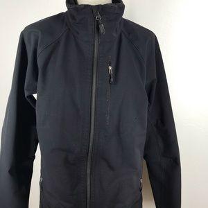 Vtg Patagonia Wind Shield Shell Jacket Black Large